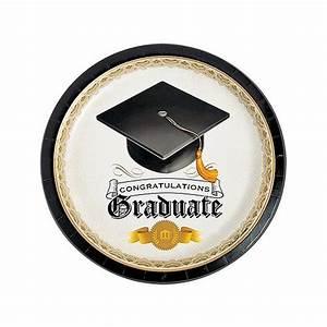 Graduation Tableware: Graduation Table Supplies