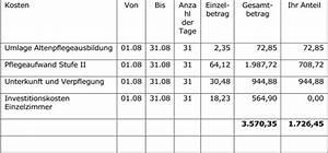 Rechnung Zurückweisen : pflege endlose abzocke ~ Themetempest.com Abrechnung