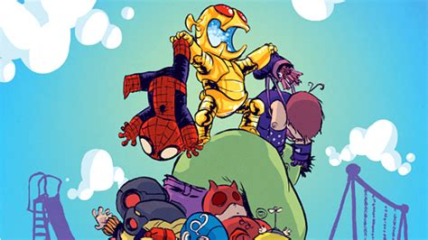 foto de Skottie Young Covers AGE OF ULTRON #1 Comic Vine