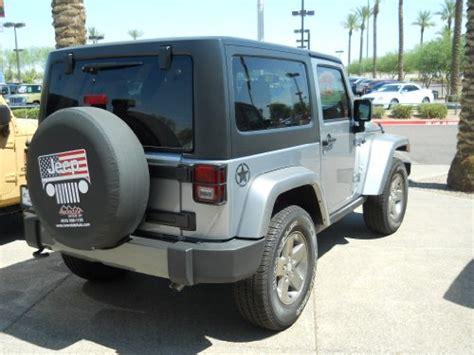 jeep wrangler black freedom edition star rear fender