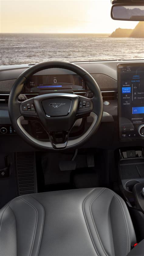 wallpaper ford mustang mach  interior suv  cars