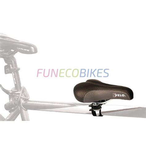 siege avant velo selle siège enfant sur barre horizontale de vélo adulte