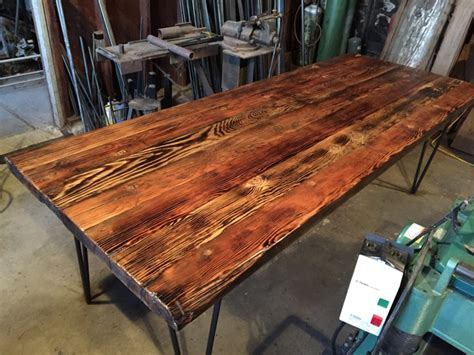 reclaimed  growth douglas fir dining table ambrose