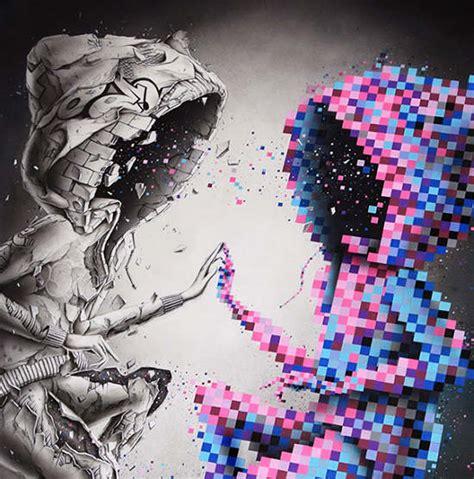 twin pix pez artwork