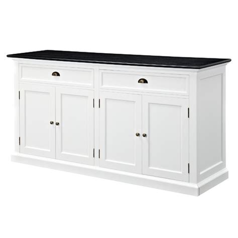 Black And White Sideboard by Temple Webster Htons Large Sideboard Buffet Black
