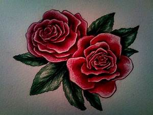 Attractive Rose Drawings | Design Trends