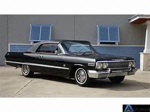 1963 Chevrolet Impala Transmission Type 4 Speed Manual