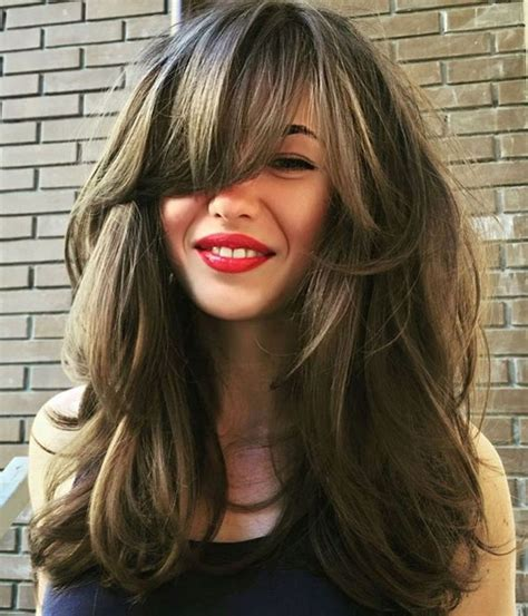 40 Side Swept Bangs to Sweep You off Your Feet Long hair