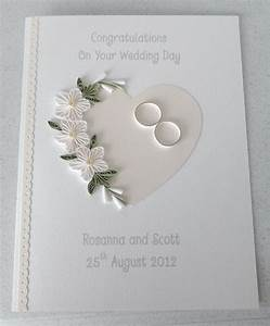 quilled wedding card paper quilling personalized With wedding cards paper material