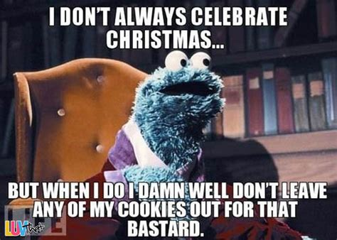 Xmas Memes - a cookie monster christmas luvthat