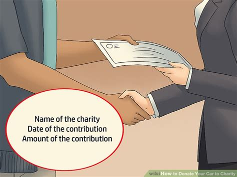 Give Car To Charity Tax Deduction - how to donate your car to charity 11 steps with pictures