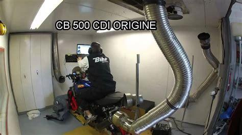Cb 500 Passage Au Banc Youtube
