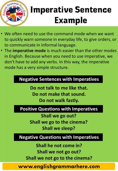 imperatives archives english grammar