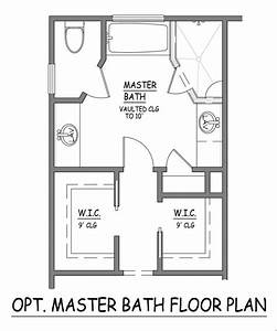 Example Bathroom Floor Plans I Like This Master Bath