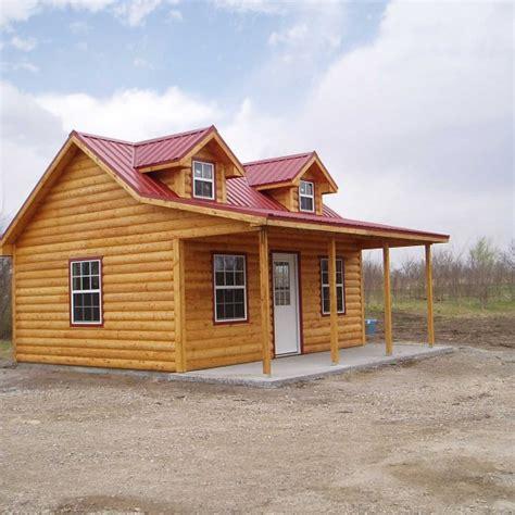 sturdi built sheds and cabins sturdi bilt side porch cabins