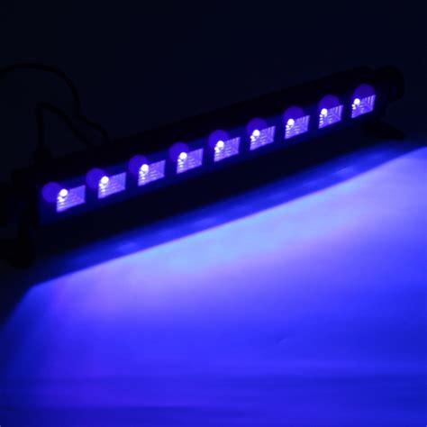 purple led light bar 9x3w uv purple led bar light wall washer l us plug for