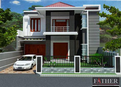 desain rumah tebaru desain rumah minimalis  lantai type