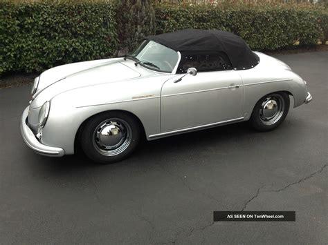 1957 Porsche Speedster Replica by 1957 Porsche 356 Speedster Replica Built In October 2013