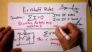 Kirchhoff's Loop and Junction Rules Theory | Doc Physics ...