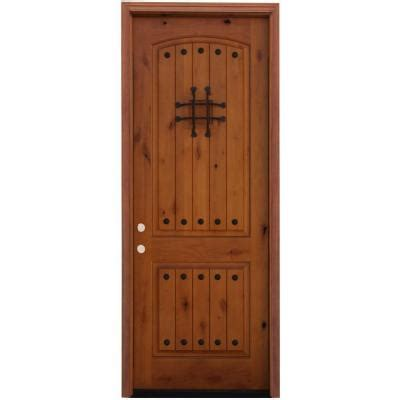 alder wood doors pacific entries rustic 2 panel stained knotty alder wood