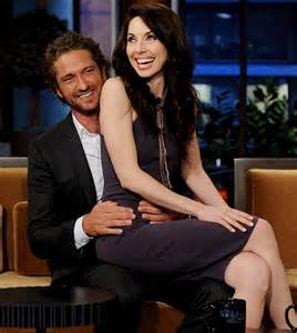 Whitney Cummings Flirts With Gerard Butler On The Tonight