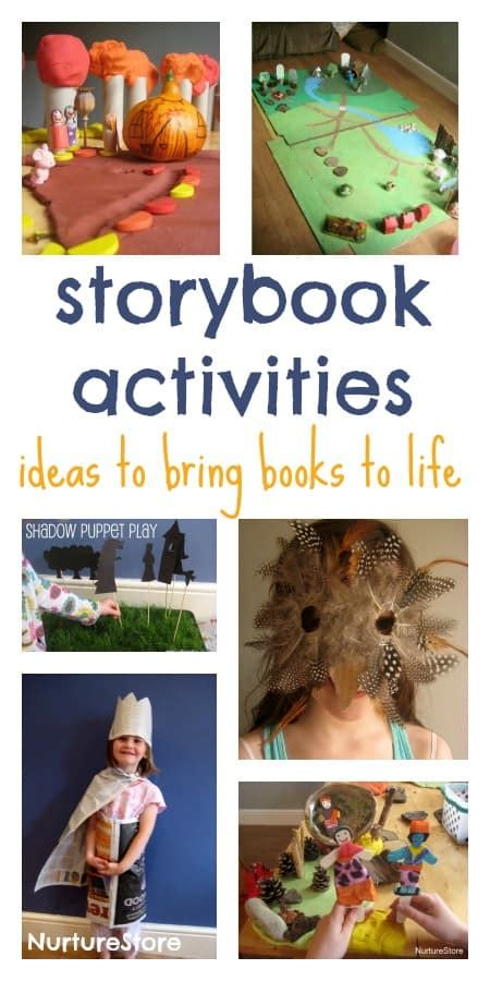 storybook activities simple play nurturestore 685 | storybook activities for kids