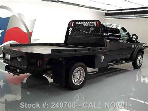 dodge ram  crew  diesel dually flatbed