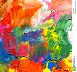 Abstract Acrylic Painted Background Royalty Free Stock ...