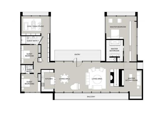 house plans with attached guest house apartments house plans with attached guest house best