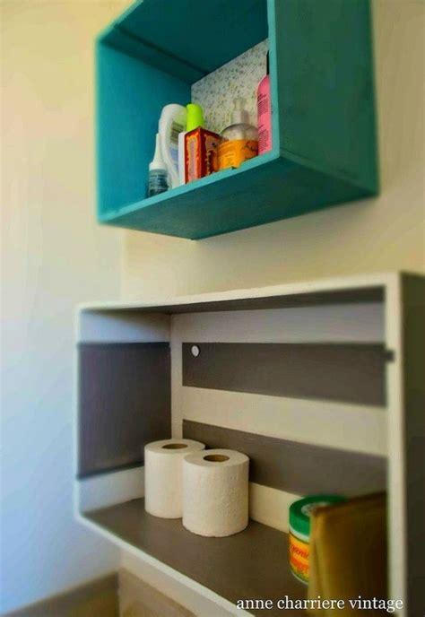 replace  bathroom shelves    creative ideas