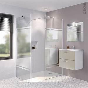 Miroir De Douche : pack douche l 39 italienne paroi 90 cm paroi de retour 90 cm verre miroir 8 mm 2 barres de ~ Nature-et-papiers.com Idées de Décoration