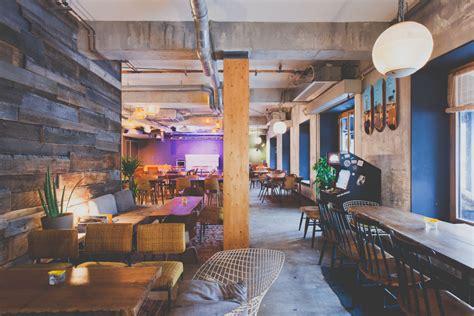 bureau bois design espaces de coworking les cafés à où travailler