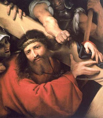 lorenzo lotto le portement de croix