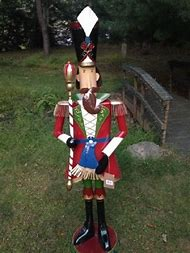 nutcracker toy soldier christmas decorations for outdoors