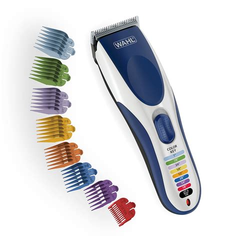 galleon wahl clipper color pro cordless rechargeable hair clippers