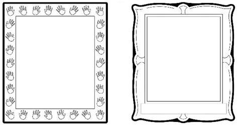 printable border designs  paper black