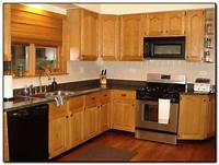 kitchen color ideas Recommended Kitchen Color Ideas with Oak Cabinets | Home ...