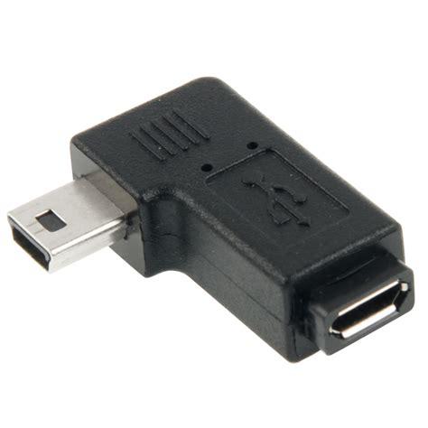 90 degree micro usb to mini usb adapter alexnld