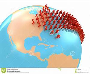Migration to USA stock illustration. Image of movement ...