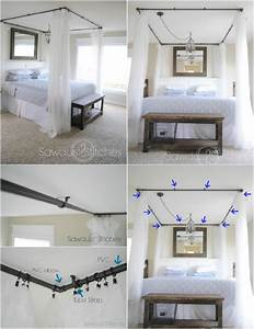 sleep in absolute luxury with these 23 gorgeous diy bed With diy canopy bed from pvc pipes