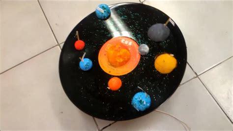 161 qu 233 divertida es la ciencia maqueta del sistema solar giratorio youtube