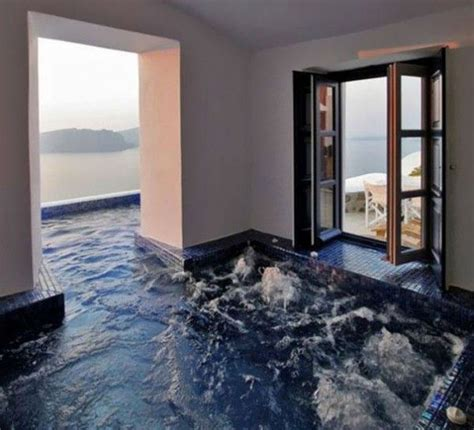awesome  floor design ideas hot tub room  homes