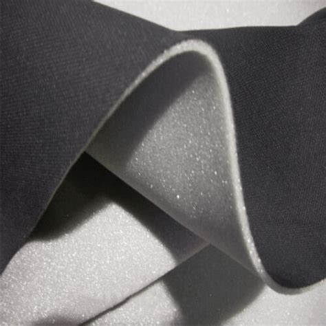 Upholstery Padding Material by Car Headlining Or Headliner Fabric 2mm Foam Backed By The