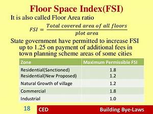 building bye laws civil engineering drawing With fsi floor space index