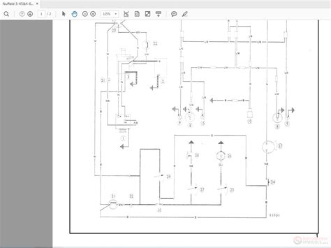 Nuffield Wiring Diagrams Acr Alternator