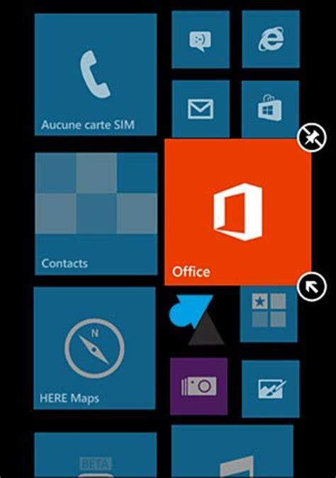 agrandir icones bureau windows phone modifier la taille des icônes