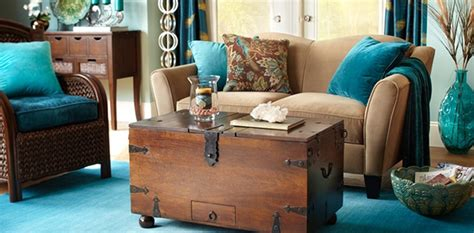Decorating Ideas For Living Room Teal by Teal And Brown Living Room Www Resnooze