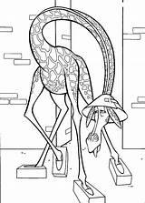 Melman sketch template