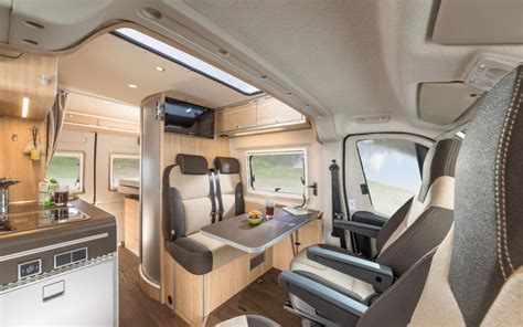 cer van with bathroom hymercar s ayers rock van is a cer van for four
