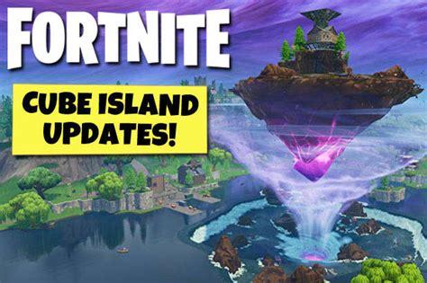 fortnite cube island tracker    floating island